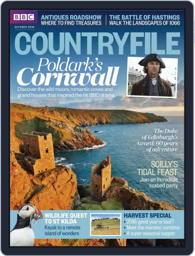 Bbc Countryfile (Digital) October 1st, 2016 Issue Cover