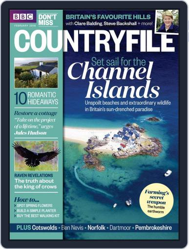 Bbc Countryfile (Digital) February 1st, 2016 Issue Cover