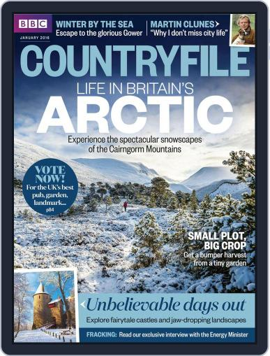 Bbc Countryfile (Digital) January 1st, 2016 Issue Cover