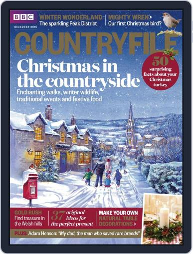 Bbc Countryfile December 1st, 2015 Digital Back Issue Cover