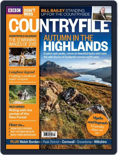 Bbc Countryfile (Digital) October 1st, 2015 Issue Cover