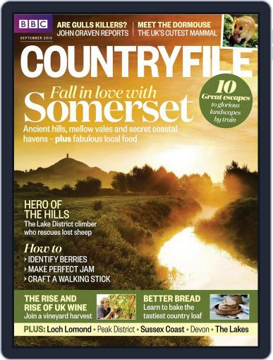 Bbc Countryfile (Digital) September 1st, 2015 Issue Cover