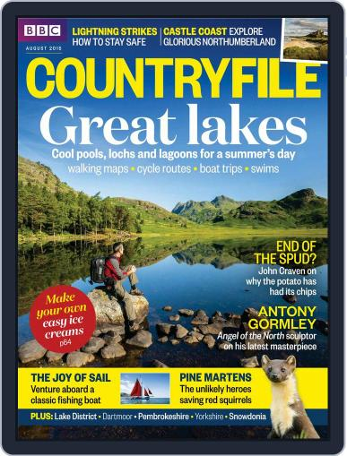 Bbc Countryfile August 1st, 2015 Digital Back Issue Cover