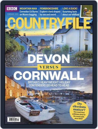 Bbc Countryfile (Digital) January 26th, 2015 Issue Cover