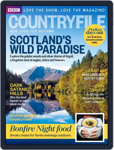 Bbc Countryfile (Digital) October 13th, 2014 Issue Cover