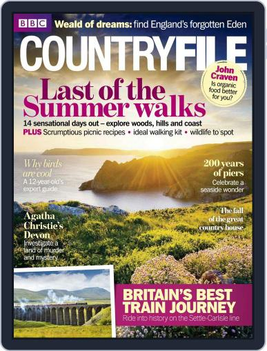 Bbc Countryfile August 18th, 2014 Digital Back Issue Cover
