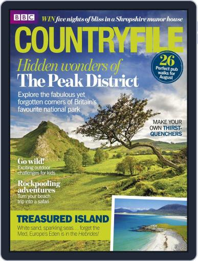 Bbc Countryfile July 21st, 2014 Digital Back Issue Cover