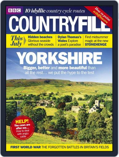 Bbc Countryfile (Digital) June 24th, 2014 Issue Cover