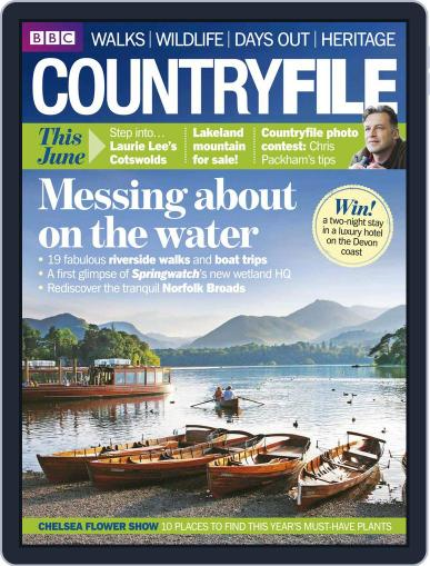 Bbc Countryfile May 12th, 2014 Digital Back Issue Cover