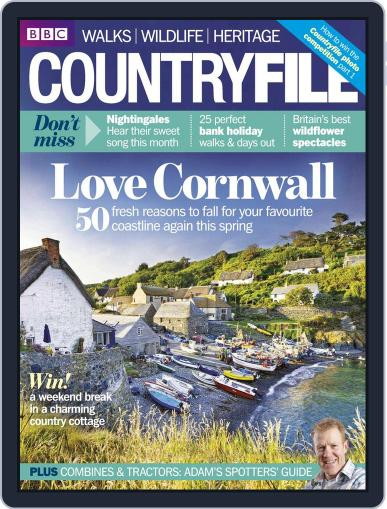 Bbc Countryfile April 16th, 2014 Digital Back Issue Cover