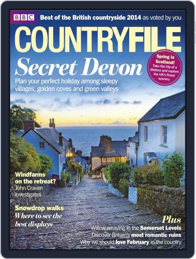 Bbc Countryfile (Digital) January 27th, 2014 Issue Cover