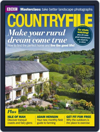 Bbc Countryfile (Digital) December 26th, 2013 Issue Cover