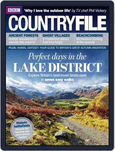 Bbc Countryfile (Digital) October 29th, 2013 Issue Cover