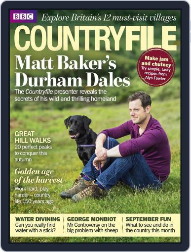 Bbc Countryfile August 29th, 2013 Digital Back Issue Cover