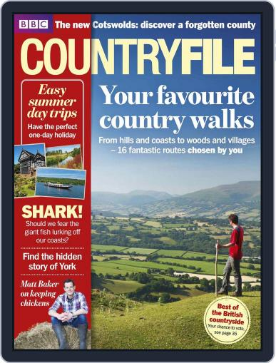 Bbc Countryfile August 1st, 2013 Digital Back Issue Cover