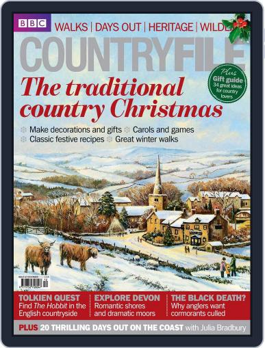 Bbc Countryfile (Digital) November 30th, 2012 Issue Cover