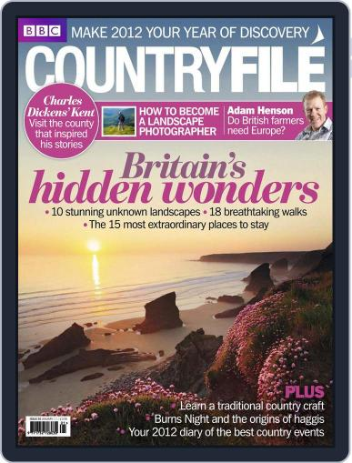 Bbc Countryfile (Digital) December 14th, 2011 Issue Cover