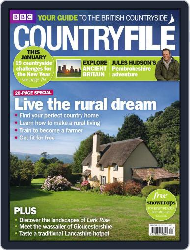Bbc Countryfile (Digital) December 16th, 2010 Issue Cover