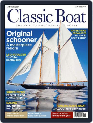 Classic Boat (Digital) January 1st, 2019 Issue Cover