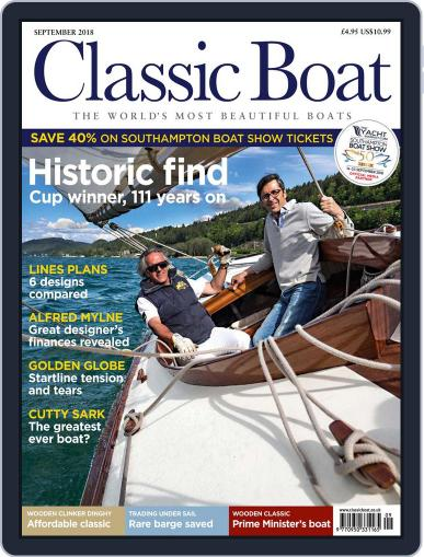Classic Boat (Digital) September 1st, 2018 Issue Cover