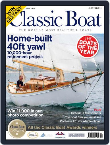 Classic Boat (Digital) May 1st, 2018 Issue Cover