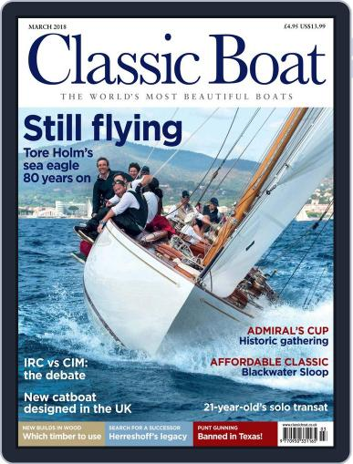 Classic Boat (Digital) March 1st, 2018 Issue Cover
