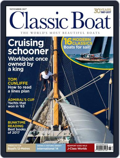 Classic Boat (Digital) November 1st, 2017 Issue Cover