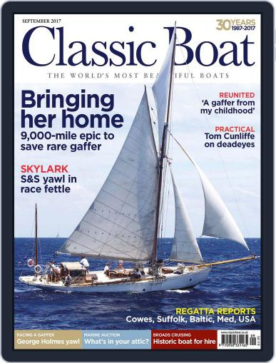 Classic Boat (Digital) September 1st, 2017 Issue Cover