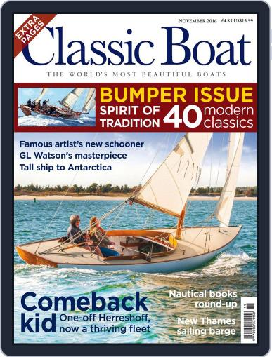Classic Boat (Digital) November 1st, 2016 Issue Cover