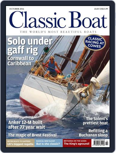 Classic Boat (Digital) October 1st, 2016 Issue Cover