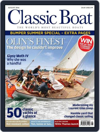 Classic Boat (Digital) July 1st, 2016 Issue Cover