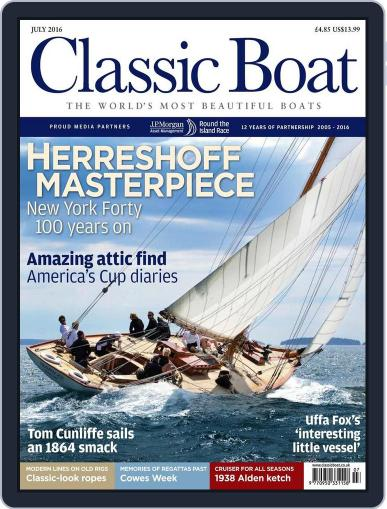 Classic Boat (Digital) June 3rd, 2016 Issue Cover
