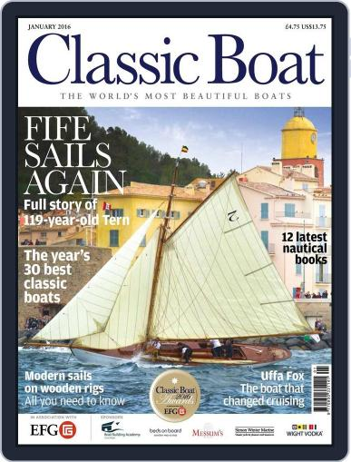 Classic Boat (Digital) December 1st, 2015 Issue Cover