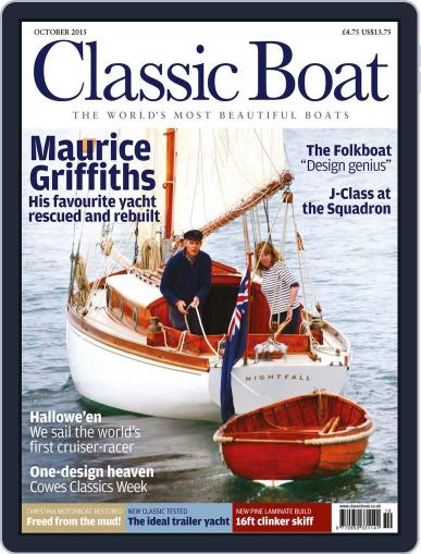 Classic Boat (Digital) September 4th, 2015 Issue Cover