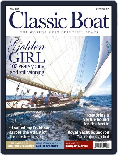 Classic Boat (Digital) July 1st, 2015 Issue Cover