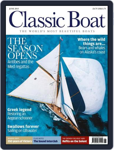 Classic Boat (Digital) June 1st, 2015 Issue Cover