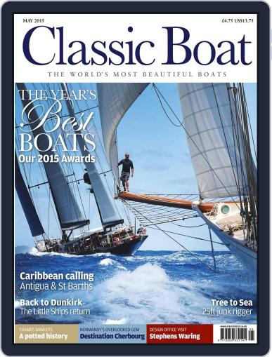 Classic Boat (Digital) April 8th, 2015 Issue Cover