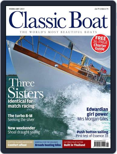 Classic Boat (Digital) February 1st, 2015 Issue Cover