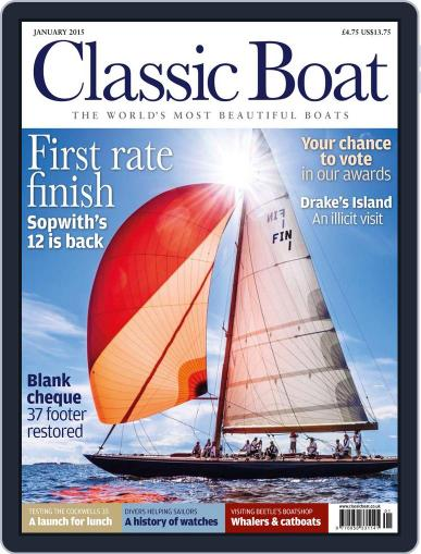 Classic Boat (Digital) January 1st, 2015 Issue Cover