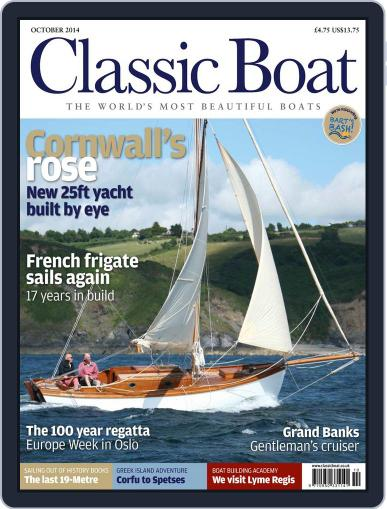 Classic Boat (Digital) September 15th, 2014 Issue Cover