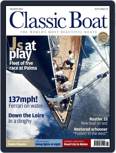 Classic Boat (Digital) July 15th, 2014 Issue Cover