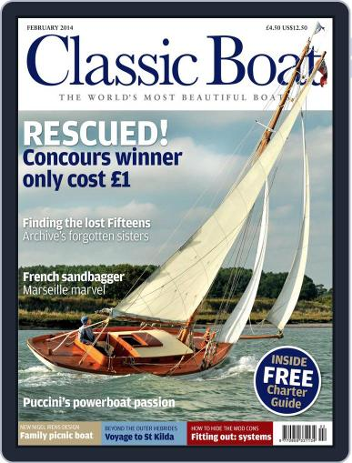 Classic Boat (Digital) January 2nd, 2014 Issue Cover
