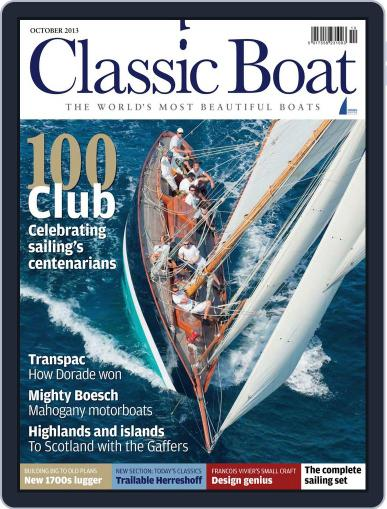 Classic Boat (Digital) September 10th, 2013 Issue Cover