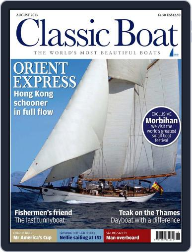 Classic Boat (Digital) July 9th, 2013 Issue Cover