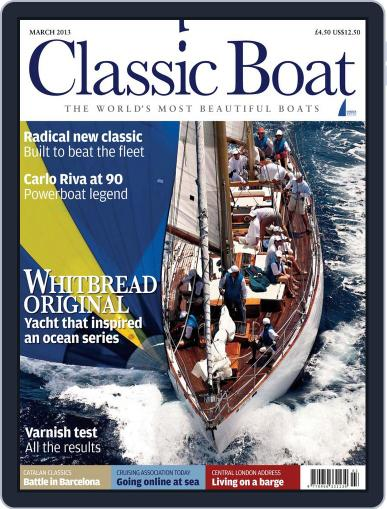 Classic Boat (Digital) February 5th, 2013 Issue Cover
