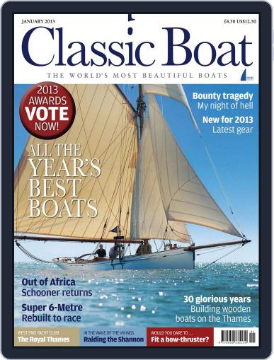 Classic Boat (Digital) December 6th, 2012 Issue Cover