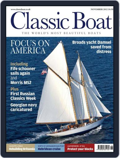 Classic Boat (Digital) October 11th, 2012 Issue Cover