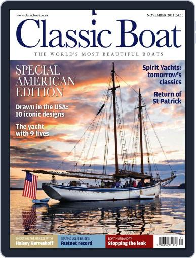 Classic Boat (Digital) November 1st, 2011 Issue Cover