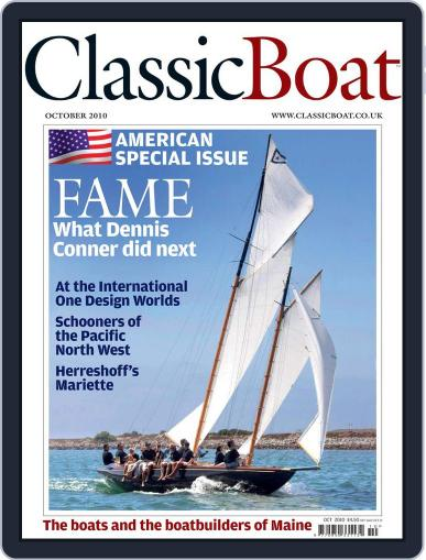 Classic Boat (Digital) September 15th, 2010 Issue Cover
