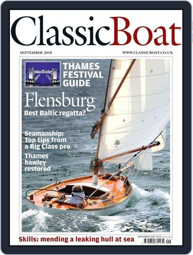 Classic Boat (Digital) September 1st, 2010 Issue Cover